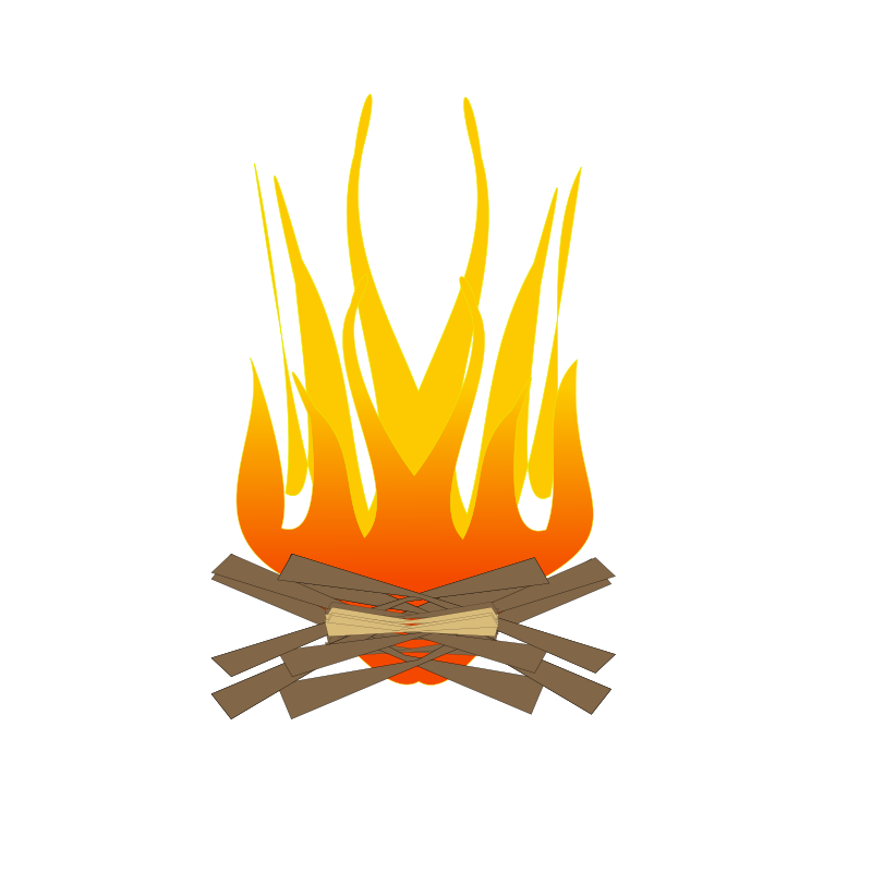 Campfire Clip Art Campfire Free Clipart Images