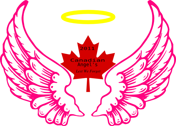 Canadian Wing Angel Halo Clipart Free Clip Art Images