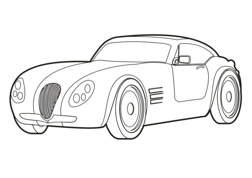 Best Car Clipart Black And White 13213 Clipartion Com