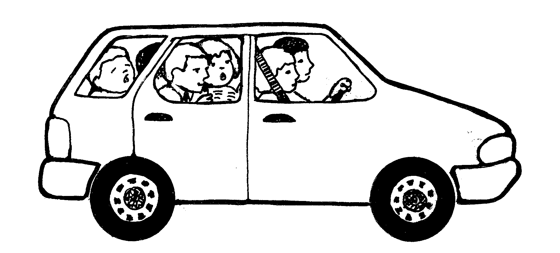 Best Car Clipart Black And White #13190 - Clipartion.com