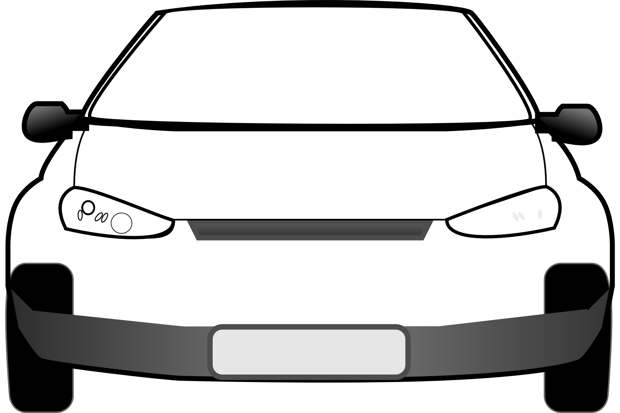 Car Clipart Black And White Free Clipart Images