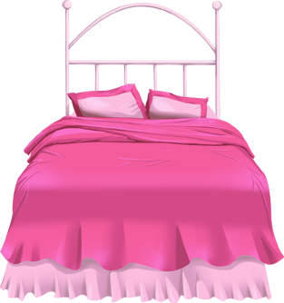 Cartoon Bed Clip Art Pink Bunk Beds Clip Art Voondecor