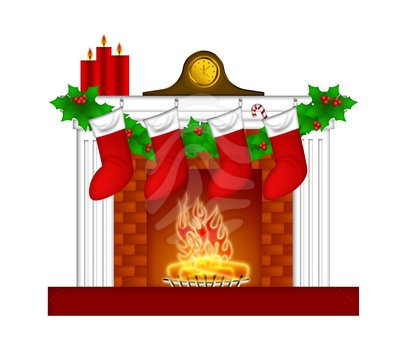 Cartoon Brick Fireplace Free Clipart Images