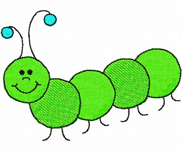 Cartoon Caterpillar Clipart Free Clip Art Images