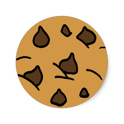 Cartoon Chocolate Chip Cookie Clipart Free Clip Art Images