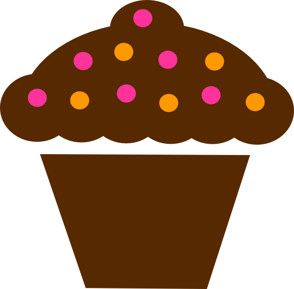 Cartoon Cupcake Clipart
