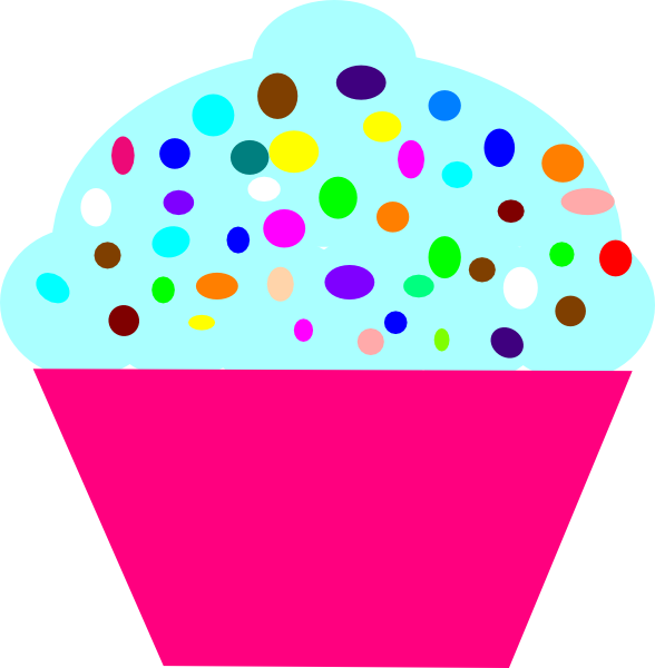 Cartoon Cupcake Vector Illustrationclip Art Guy Toon