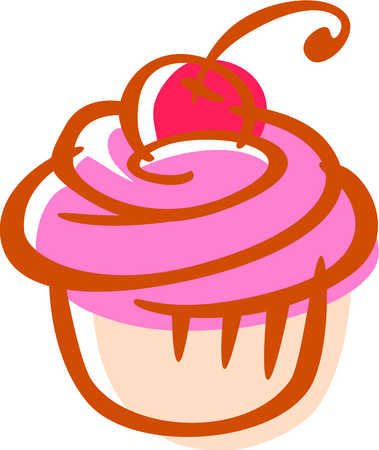 Cartoon Cupcakes Clipart