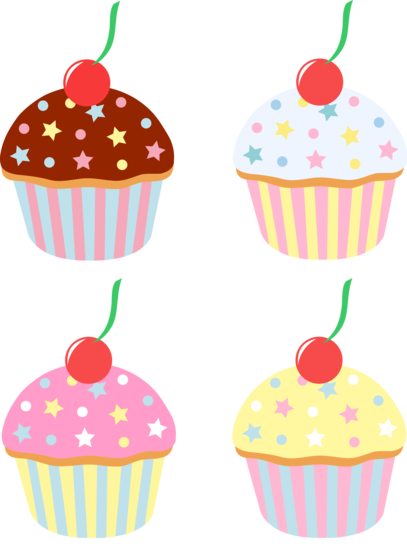 Cartoon Cupcakes Images