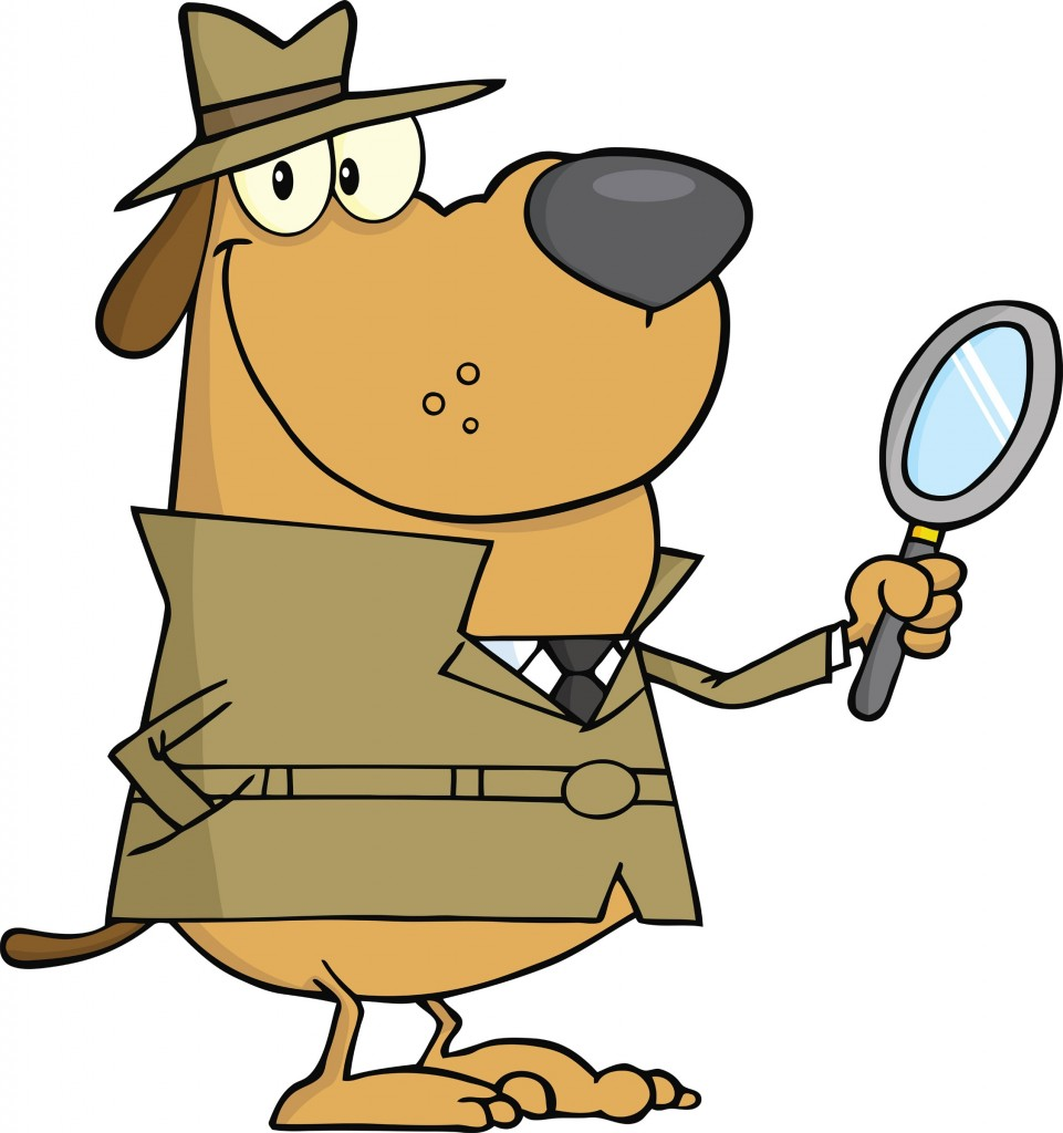Cartoon Detective Dog Clipart Free Clip Art Images