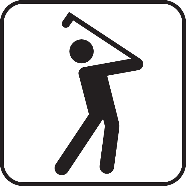 Cartoon Golf Clubs