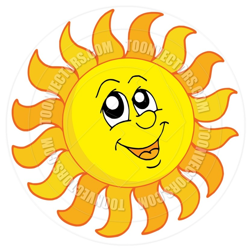 Best Happy Sun Clipart #12677 - Clipartion.com