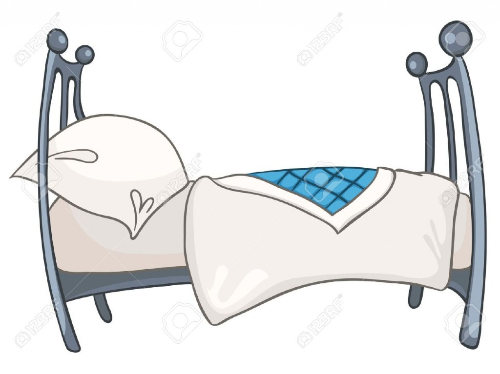 Cartoon Home Furniture Bed Royalty Free Cliparts Vectors And