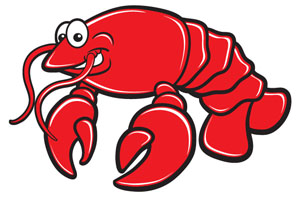 Cartoon Lobster Clipart Free Clip Art Images