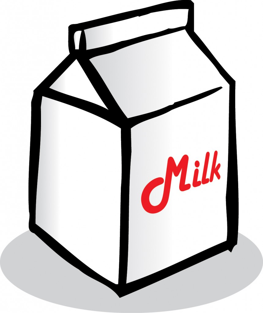 Cartoon Milk Carton