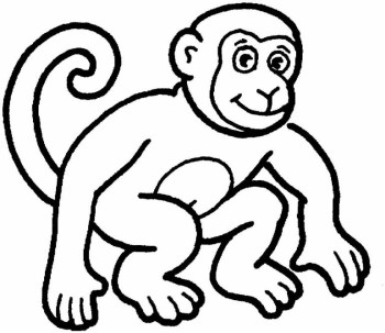 Cartoon Monkey Art