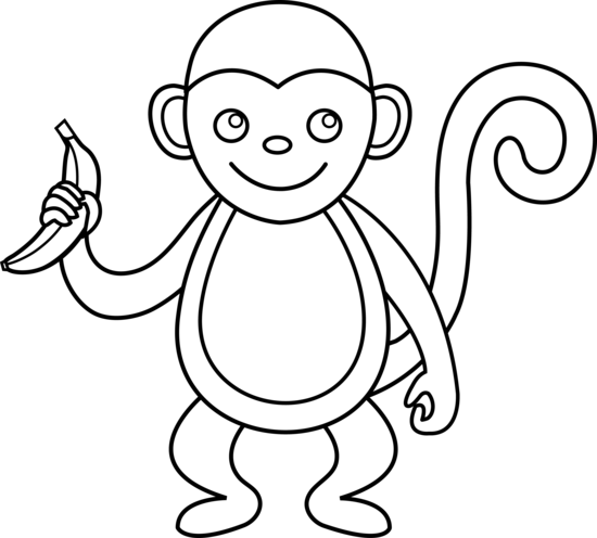 Cartoon Monkey Clip Art