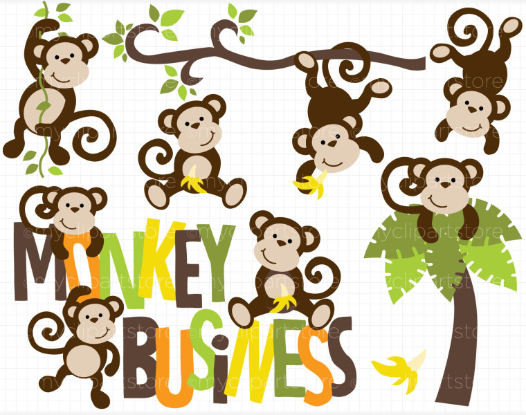 Cartoon Monkey Clipart Free Clip Art Images