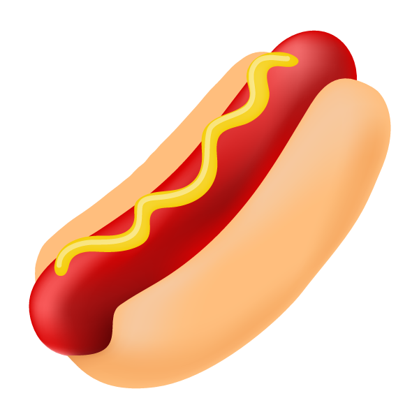 Cartoon Pictures Of Hot Dogs