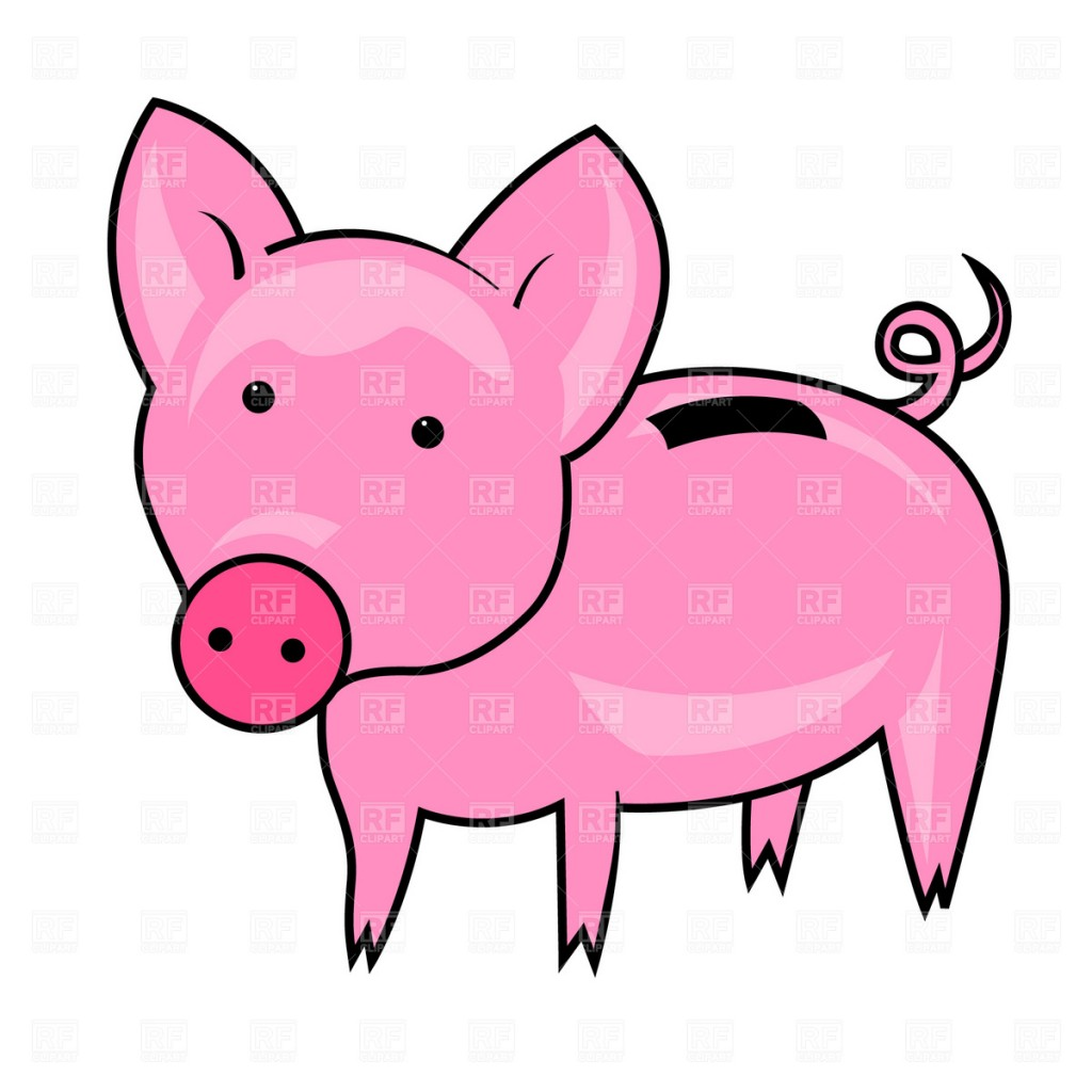 Cartoon Piggy Bank Clipart Free Clip Art Images