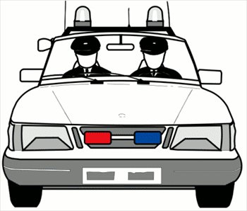 Cartoon Police Car Free Clipart Free Clip Art Images