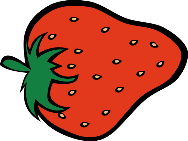 Cartoon Strawberry Clip Art