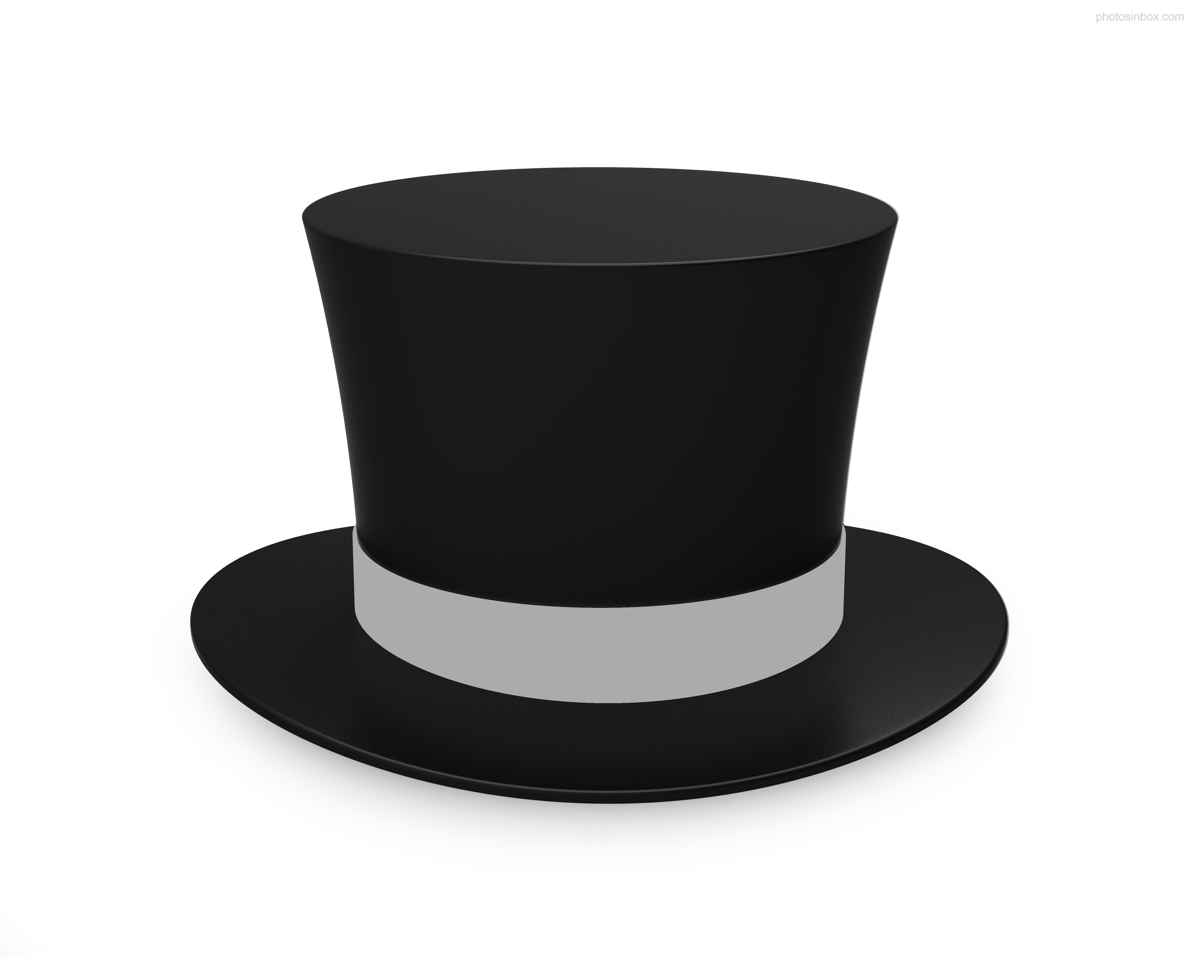 Best Top Hat Outline #14131 - Clipartion.com