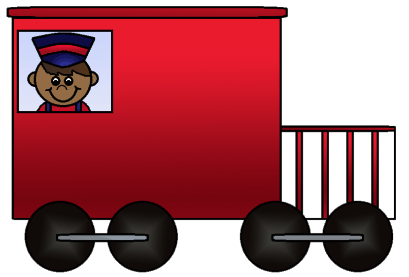Cartoon Train Caboose Clipart Free Clip Art Images