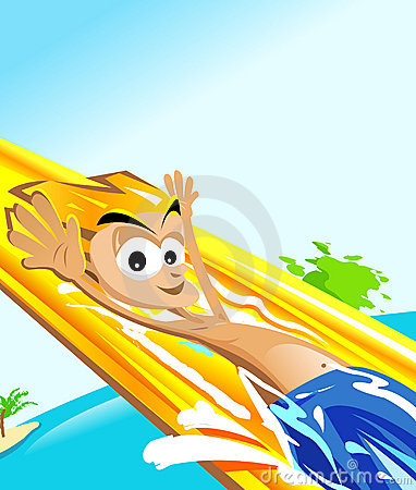 Cartoon Water Slide Clipart Free Clip Art Images