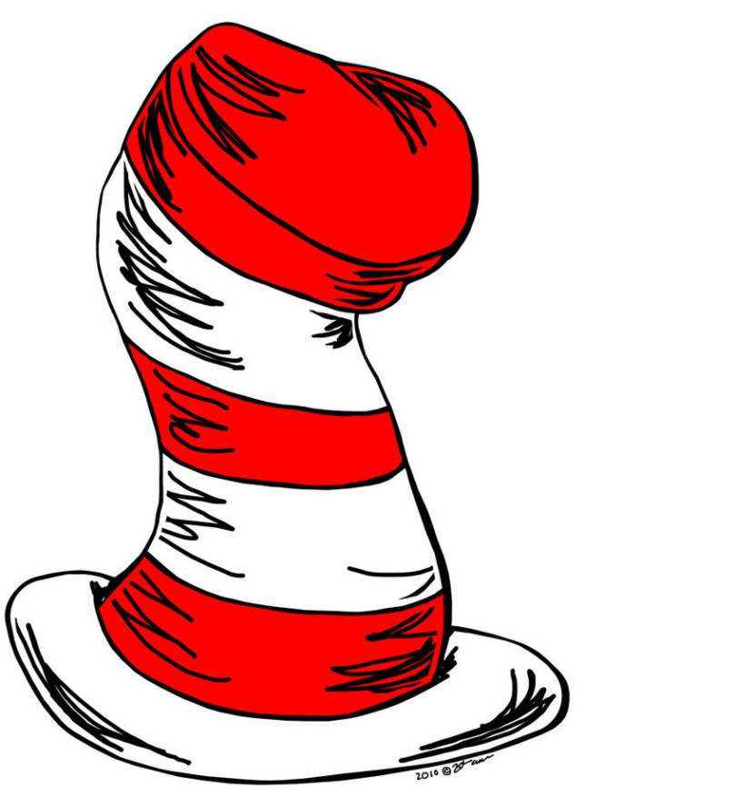 Cat In The Hat Clip Art Clipartioncom