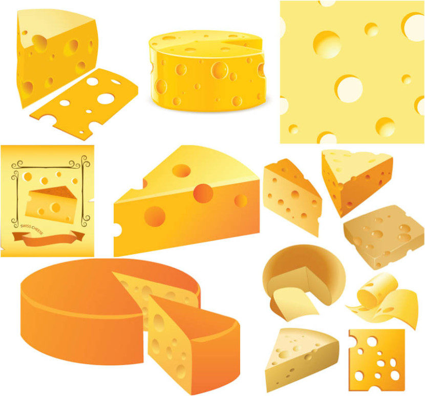 Cheese Vector Clipart Vector Graphics Blog