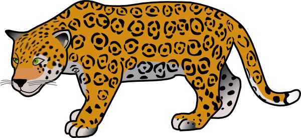 Cheetah Clip Art At Vector Clip Art Online Royalty