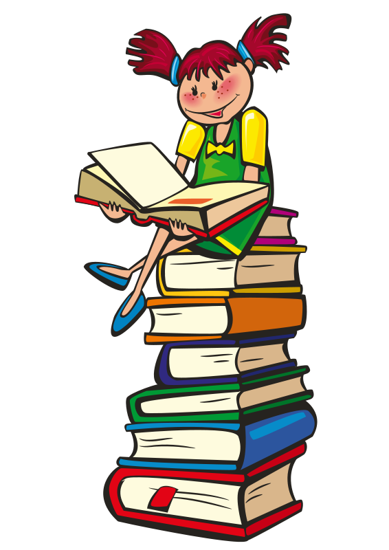 Children Reading Book Clipart Free Clipart Images
