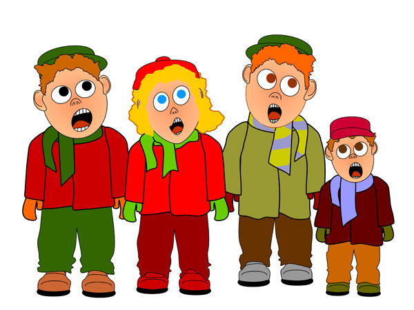 Children Singing Christmas Clipart Free Clip Art Images