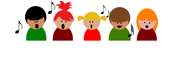 Children Singing Clipart Free Clipart Images