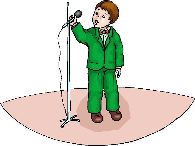Children Singing Clipart