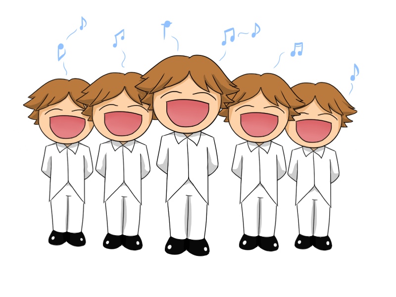 Best Children Singing Clipart #19606 - Clipartion.com