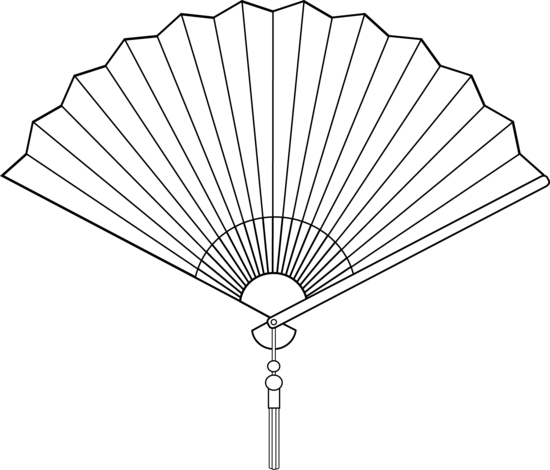 Chinese Folding Fan Means Drawing Clipart Free Clip Art Images