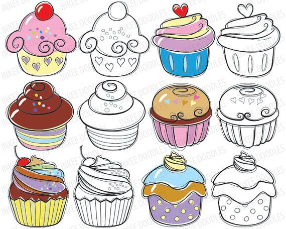 Chocolate Candy Border Cupcake Cherry Clipart Free Clip Art Images
