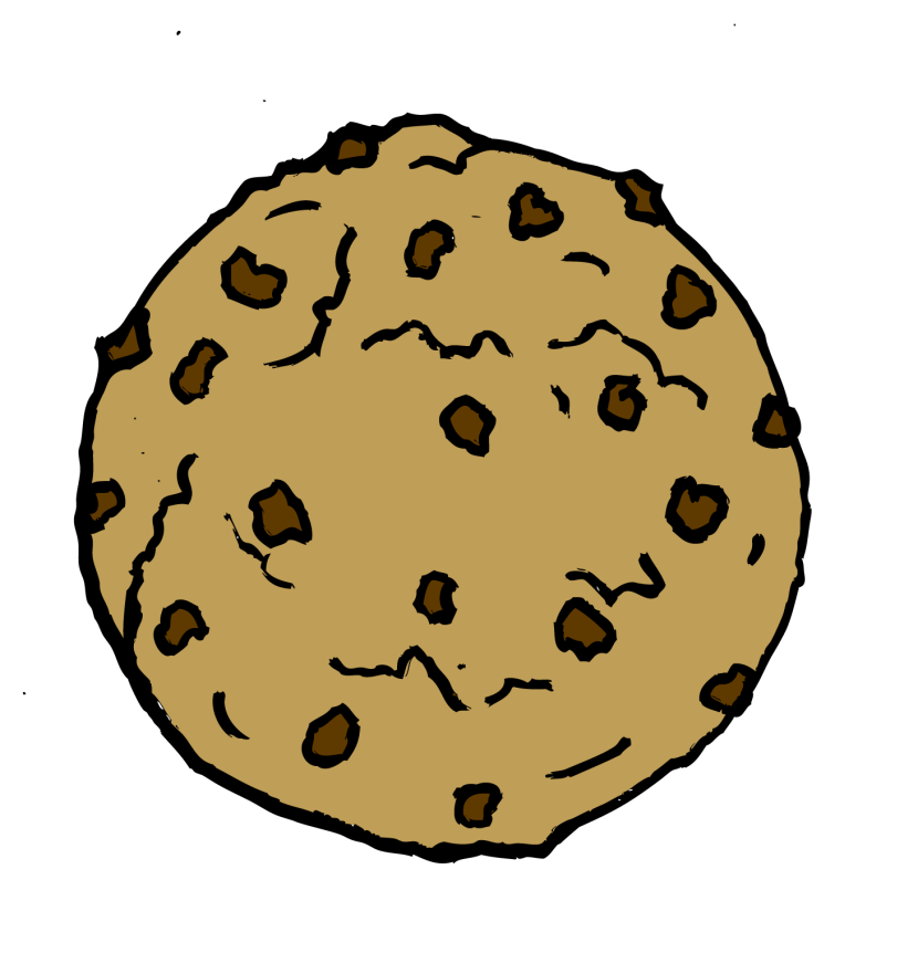Chocolate Chip Cookie Clip Art