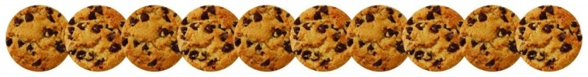 Chocolate Chip Cookies Border Clipart Photo Sharedmozelle