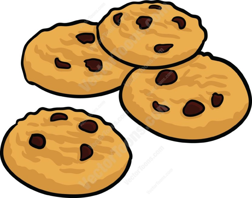 Clip Art Chocolate Chip Cookie Clipart best chocolate chip cookie clipart 15858 clipartion com cookies on a plate free clipart
