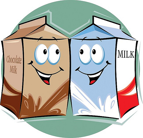 Chocolate Milk Carton Free Clipart Images