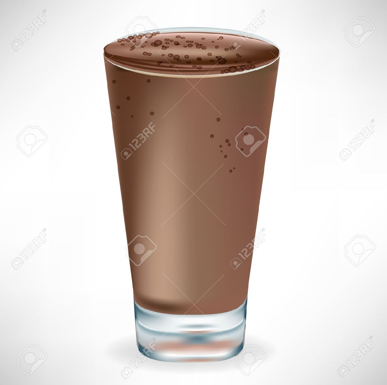 Chocolate Smoothie Stock Vector Illustration And Royalty Free
