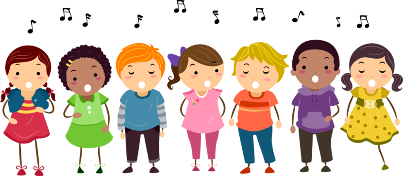 Image result for kids singing clipart