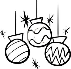 Christmas Clip Art Black And White Clipart Free Clipart