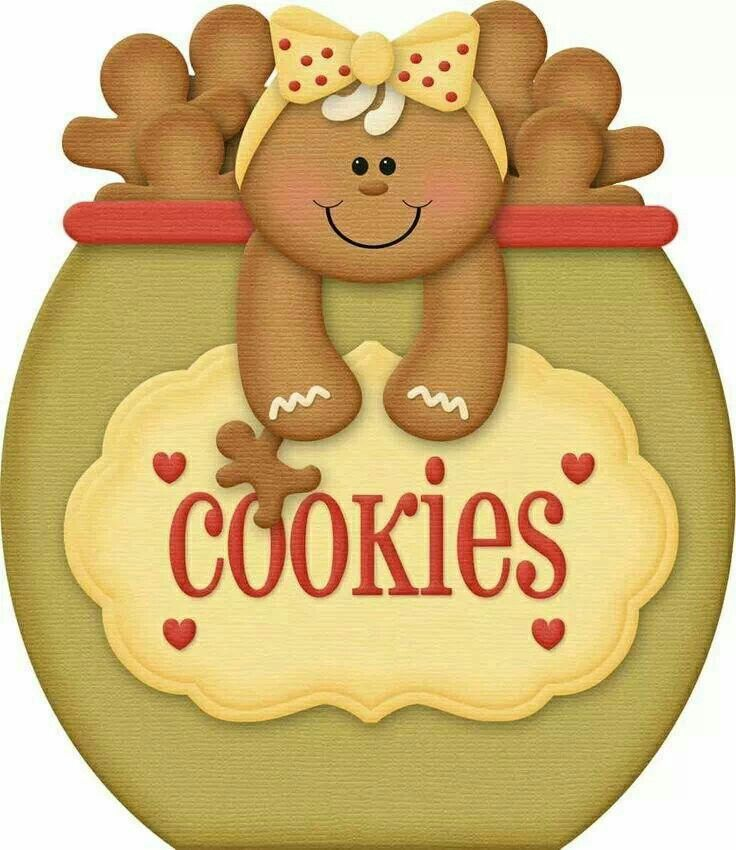 Christmas Cookie Jar Clipart Free Clip Art Images
