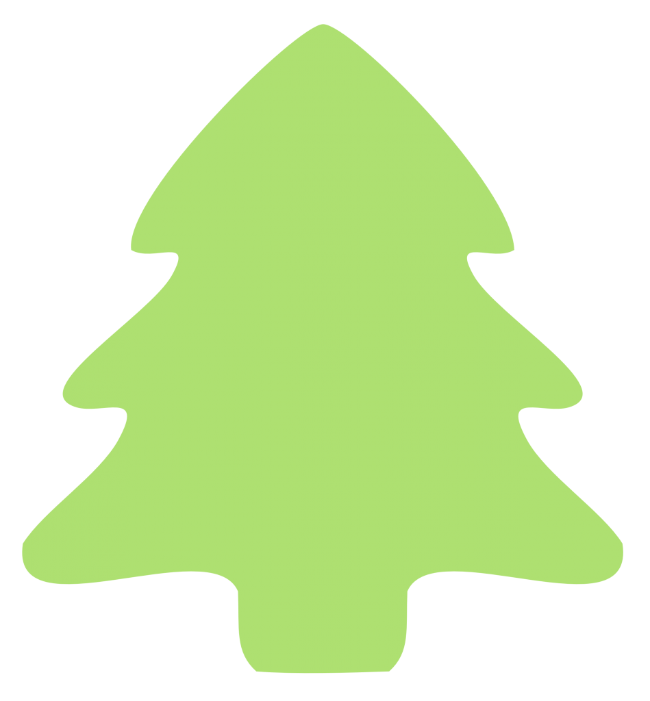 Christmas Tree Clip Art Outline Free Clipart Images