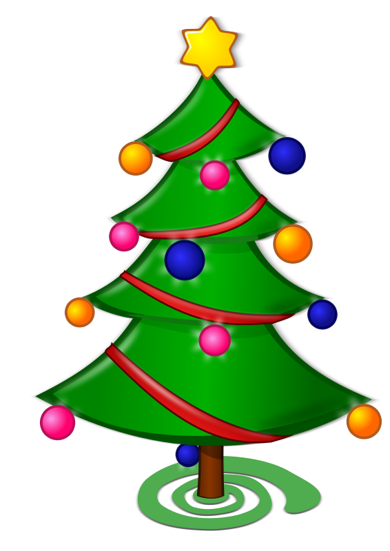 Christmas Tree Clip Art Watermark Free Clipart