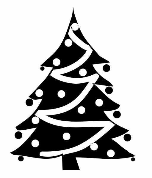 christmas tree clipart black and white clipartion com xmas tree clipart black and white xmas tree clipart black and white